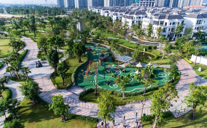 cong vien vinhomes wonder park