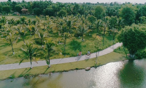 khong gian song xanh tai biet thu dao ecopark grand the island7