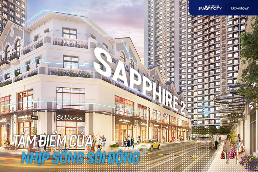 shop thuong mai dich vu downtown vinhomes smart city