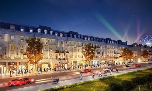 sun plaza grand world ha long ra mat shophouse europe tai thi truong quang ninh2