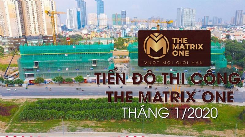 tien do thi cong the matrix one thang12020