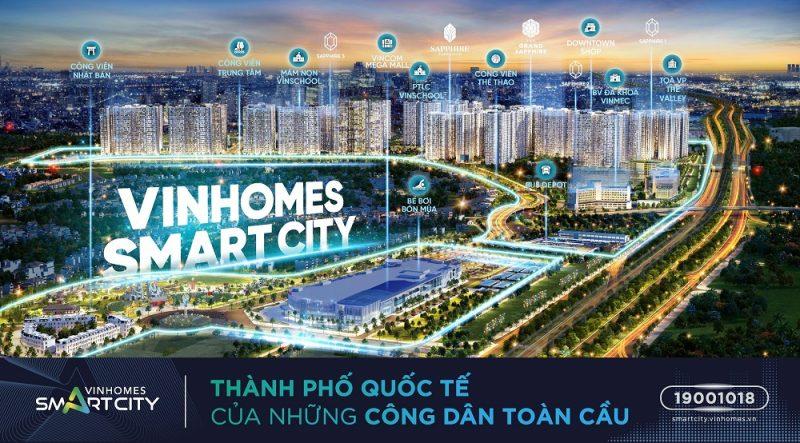 van hanh vinhomes smart city