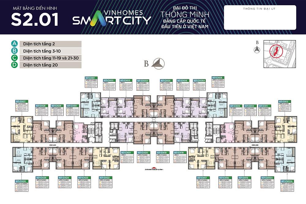 mat bang toa s201 vinhomes smart city