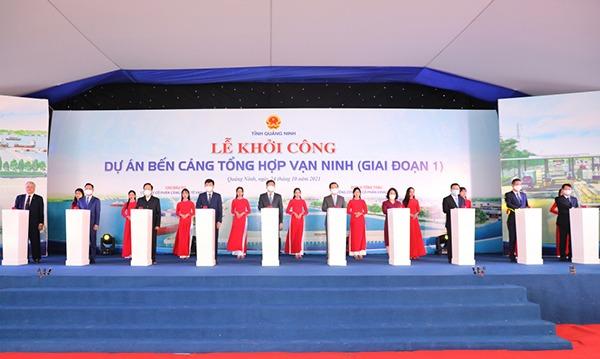 Khu do thi phuc hop Ha Long Xanh la du an co quy mo lon nhat trong he sinh thai Vingroup toi thoi diem hien tai.2